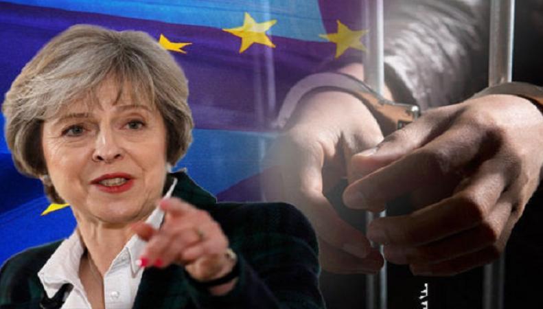 Тереза Мэй намерена депортировать иностранных преступников после Brexit