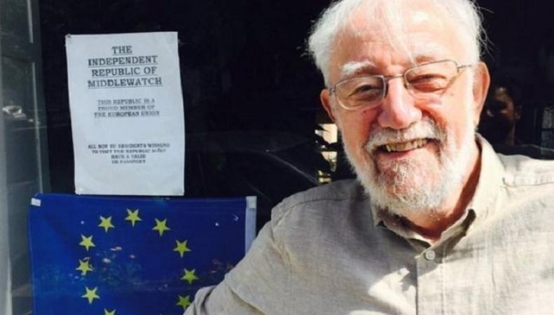 Британец объявил свой дом республикой, чтобы остаться в ЕС