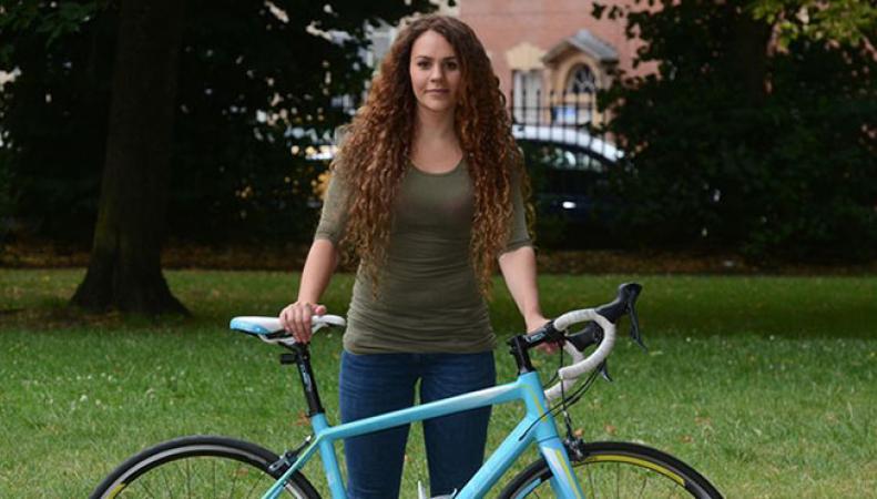 Британка угнала велосипед, украденный у нее накануне