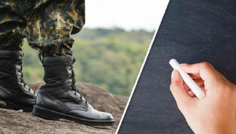 Британским военным предложат стать учителями