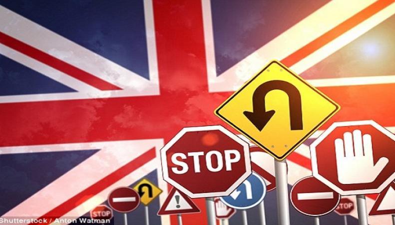 Британские автомобилисты забыли значение основных дорожных знаков