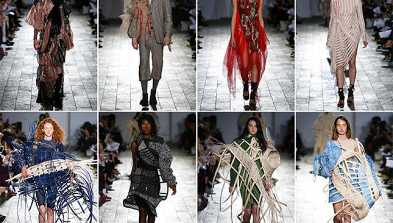 В Лондоне прошла выставка последних модных тенденций современности