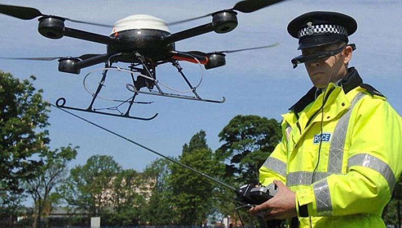В Британии создадут специальное подразделение полиции для работы с беспилотниками