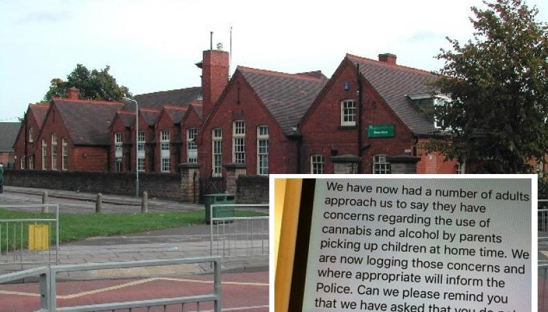 Руководство школы в Ноттингемшире  наложило запрет на запах перегара и каннабиса