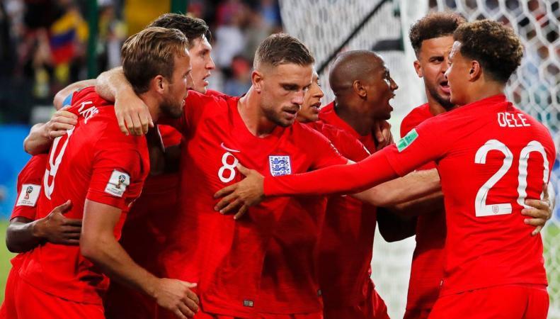 Сборная Англии вышла в четвертьфинал Чемпионата мира-2018