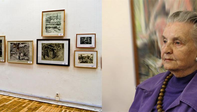 Выставка Елены Марттилы, посвященная блокаде Ленинграда, в Великобритании