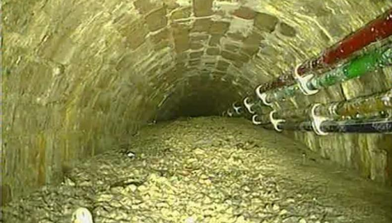 Канализация в центре Лондона заблокирована затвердевшим цементом