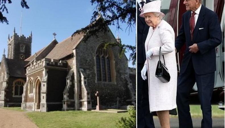 Королева Елизавета пропустит новогоднюю службу в церкви St Mary Magdalene