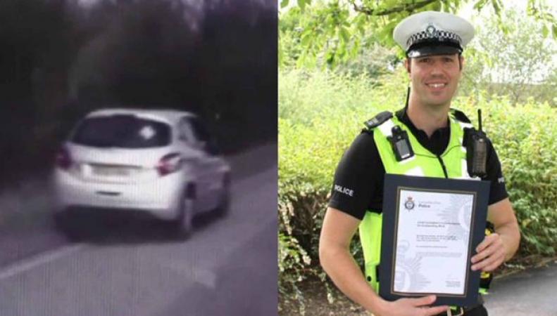 Полисмен в Мидлендсе спас женщину в диабетической коме, разбив ее машину фото:scoopnest.com