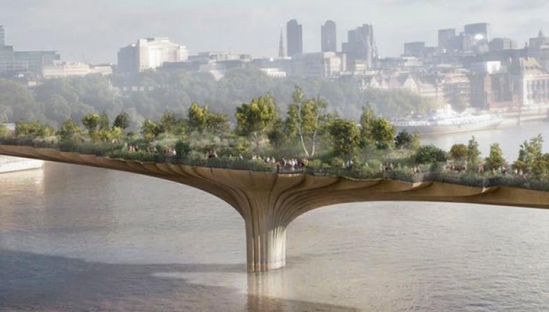 Мэрии Лондона придется вернуть в бюджет деньги за Парковый мост фото:theguardian