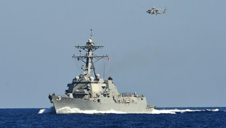 Минобороны РФ обвинило американских моряков в опасных маневрах возле российского корабля