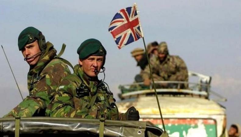 Британские военнослужащие в Латвии