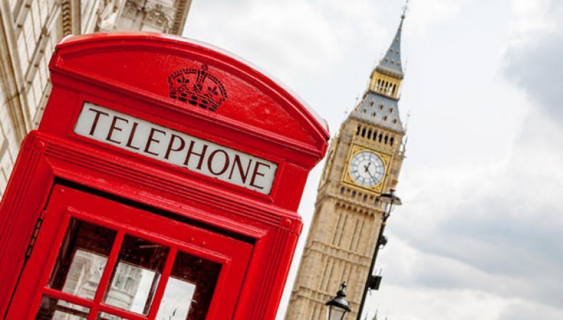 Британские телефонные будки