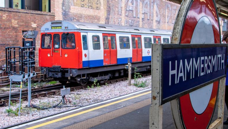 Локальная забастовка профсоюза сорвет работу двух линий лондонского метро фото:londonist.com