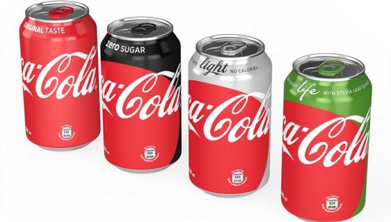 продуктовая линейка Coca-Cola