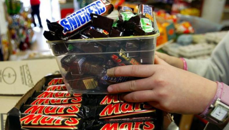 Шоколадки Mars, Nestle иCadbury для британцев уменьшат на20%
