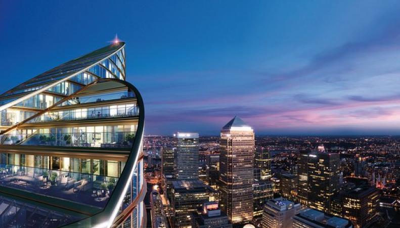 Китайская компания построит в Лондоне самый высокий жилой небоскреб в Европе фото:theguardian.com