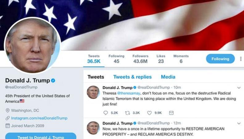 Дипломатический скандал: Трамп процитировал английских наци, - реакция Лондона