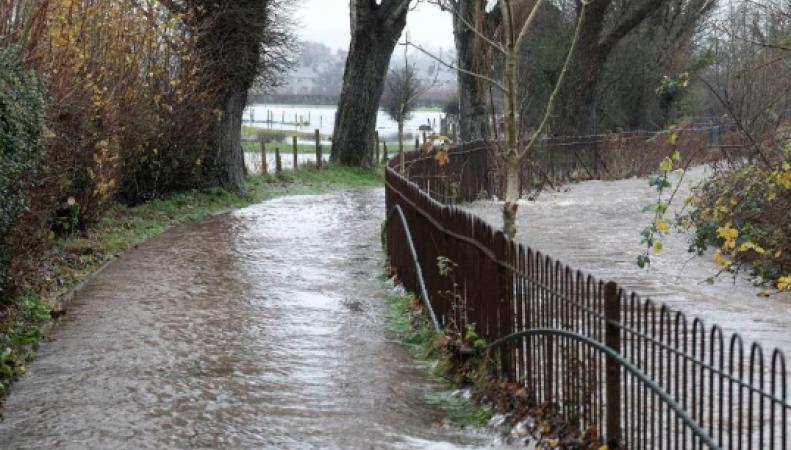 В Камбрии началось наводнение