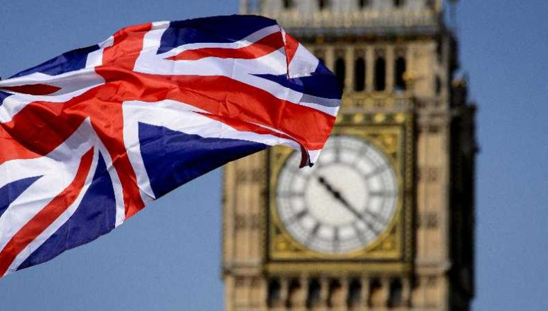 Лондон, флаг Британии