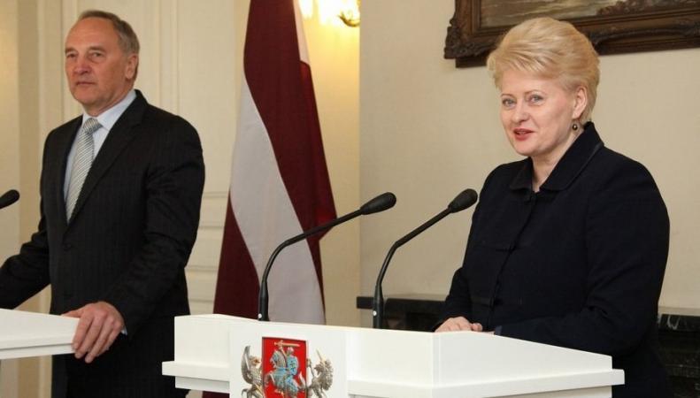 Президенты Латвии и Литвы