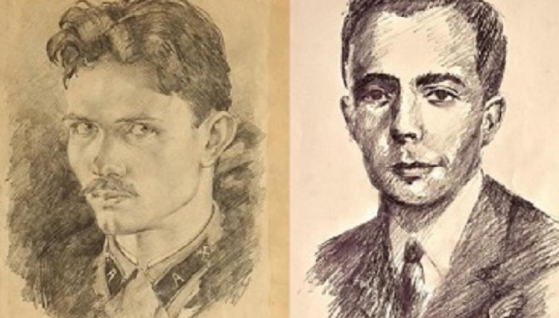 Афонин и Миллиган - автопортреты