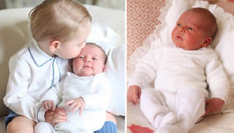 Детская одежда в королевской семье передается по наследству