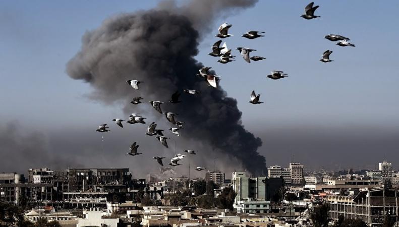 Коалиция во главе с США нанесла новый удар по правительственным силам Сирии