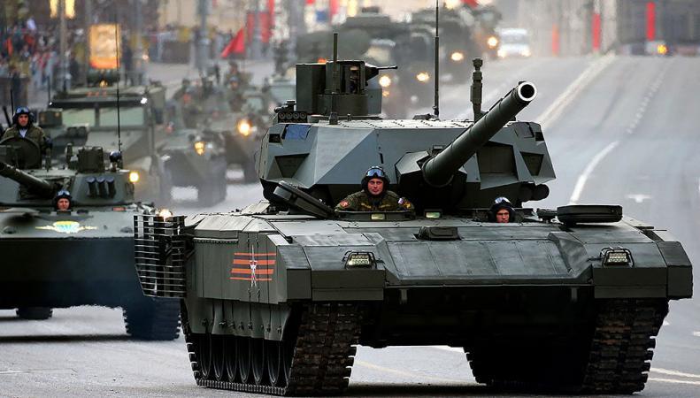 Британская разведка признала «Армату» самым революционным танком