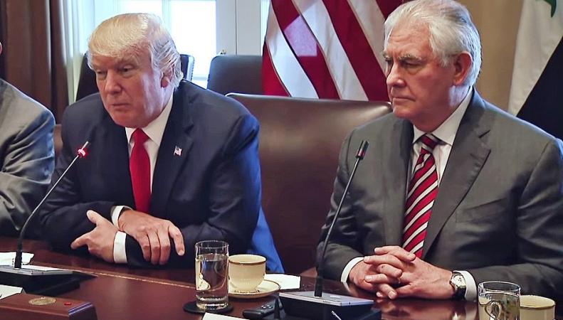 Трамп и Тиллерсон