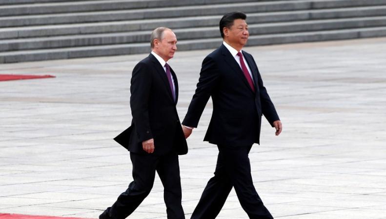 Си Цзинпинь и Путин