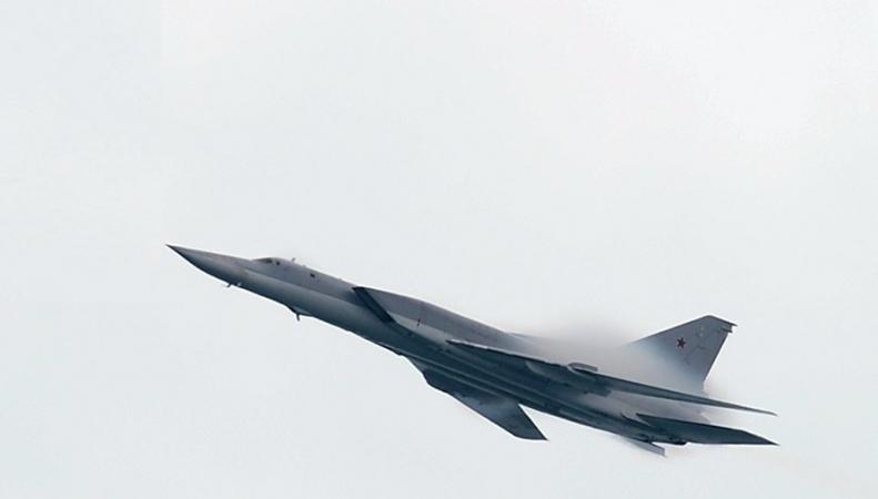Британский Typhoon сопроводил российские Ту-22 над Чёрным морем