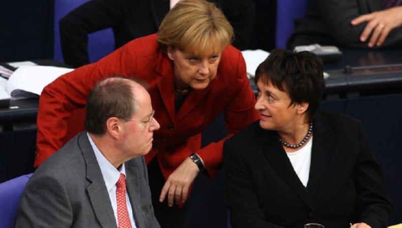 EC  будет защищаться отполитики США— МИД ФРГ