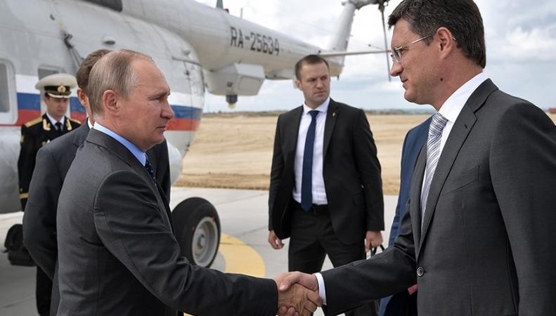 Новак и Путин