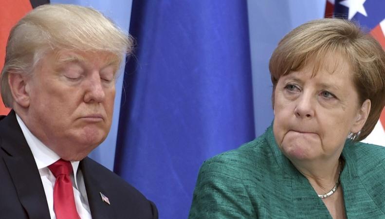 Меркель Трамп