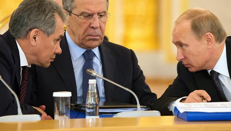 Путин, Лавров, Шойгу