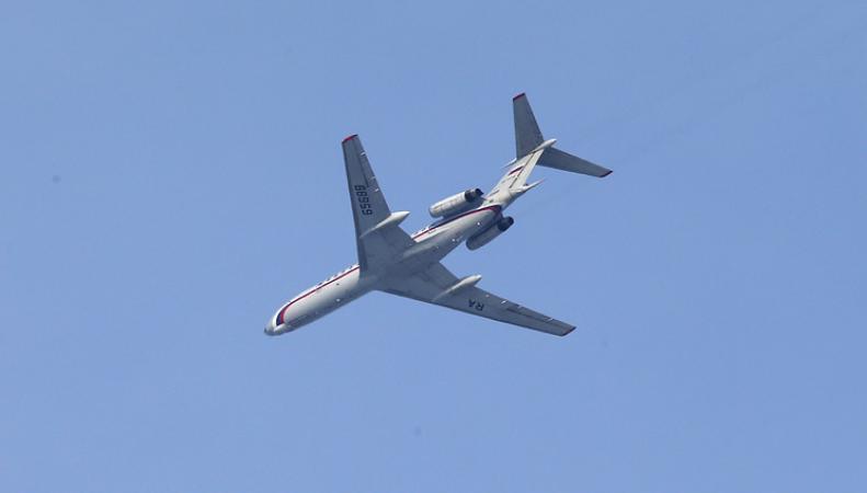 Крушение самолета Ту-154 над Черным морем