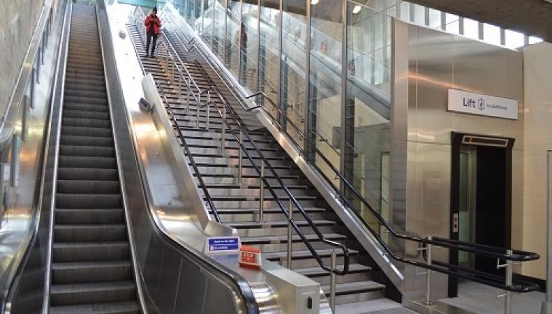 Мэрия Лондона выделила средства на создание безбарьерной среды в метро фото:standard.co.uk