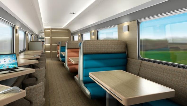 Поезда Caledonian Sleeper укомплектуют двуспальными кроватями