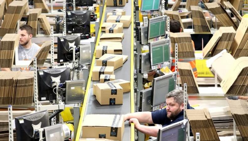 Amazon Prime в Великобритании срывает сроки доставки посылок