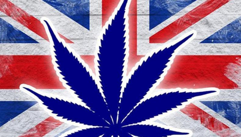 конопля на флаге Великобритании