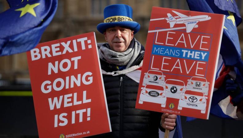 Марш в поддержку повторного референдума о Брекзите состоится в субботу в Лондоне