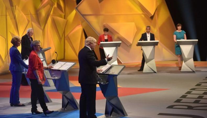 Ключевые моменты  публичных дебатов в Wembley Arena: Аргументы сторон фото:bbc.com