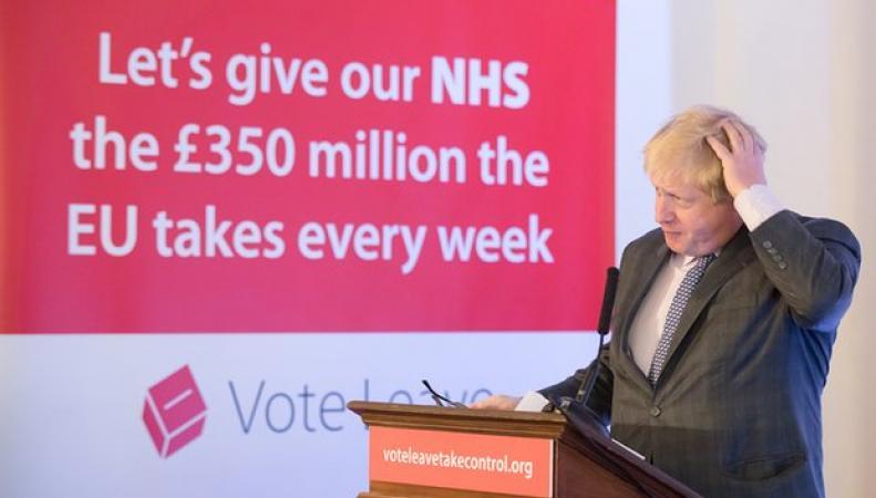 NHS не получит ни пенса дополнительного финансирования  после Brexit фото:theguardian.com