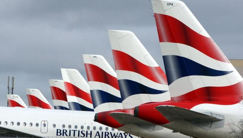 самолеты в ливрее British Airways