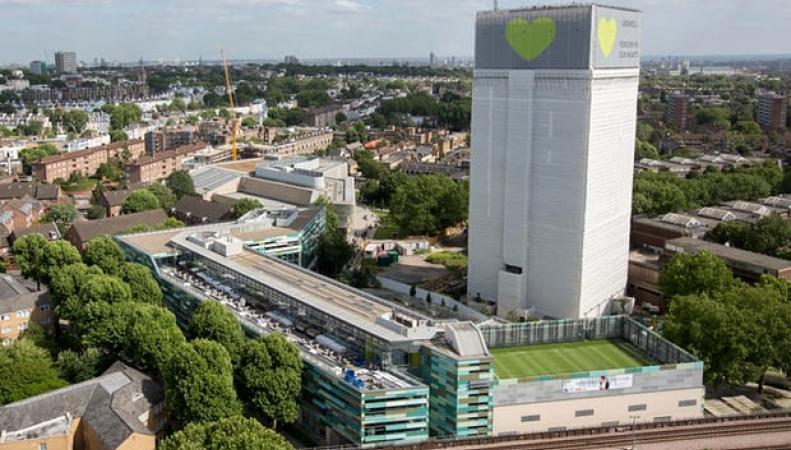 Управа Кенсингтона сможет снести остов высотки Grenfell Tower