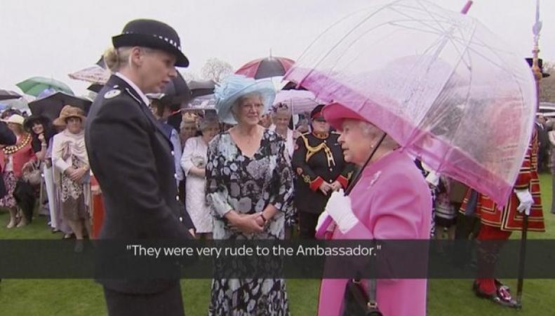 Королева Елизавета II рассказала о своей обиде на официальную делегацию КНР фото: theguardian.com