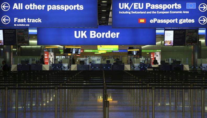 Раскрыт план Великобритании по сдерживанию мигрантов из ЕС после Brexit