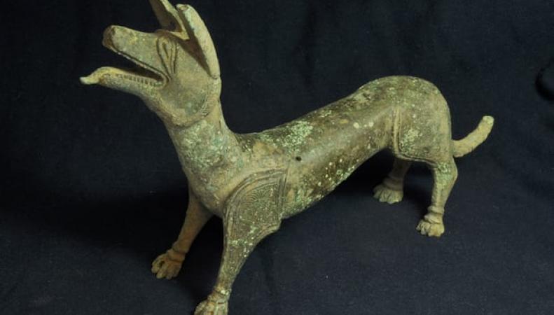 Британский кладоискатель обнаружил священную собаку римских поселенцев фото:theguardian