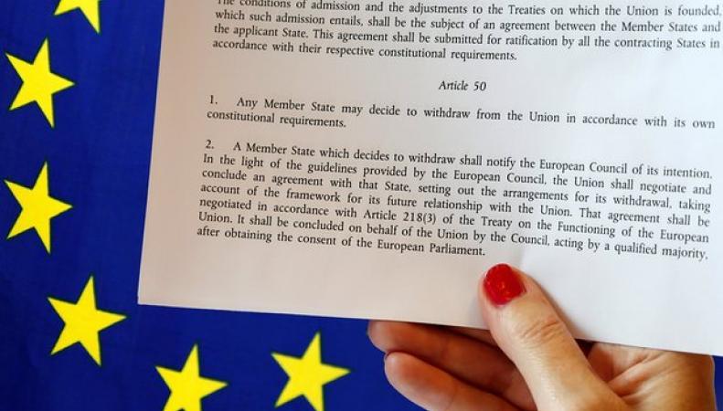 Что такое «Статья 50» и почему она определяет судьбу переговоров Британии и ЕС фото:theguardian.co.uk